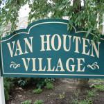 Van Houten Village Sign